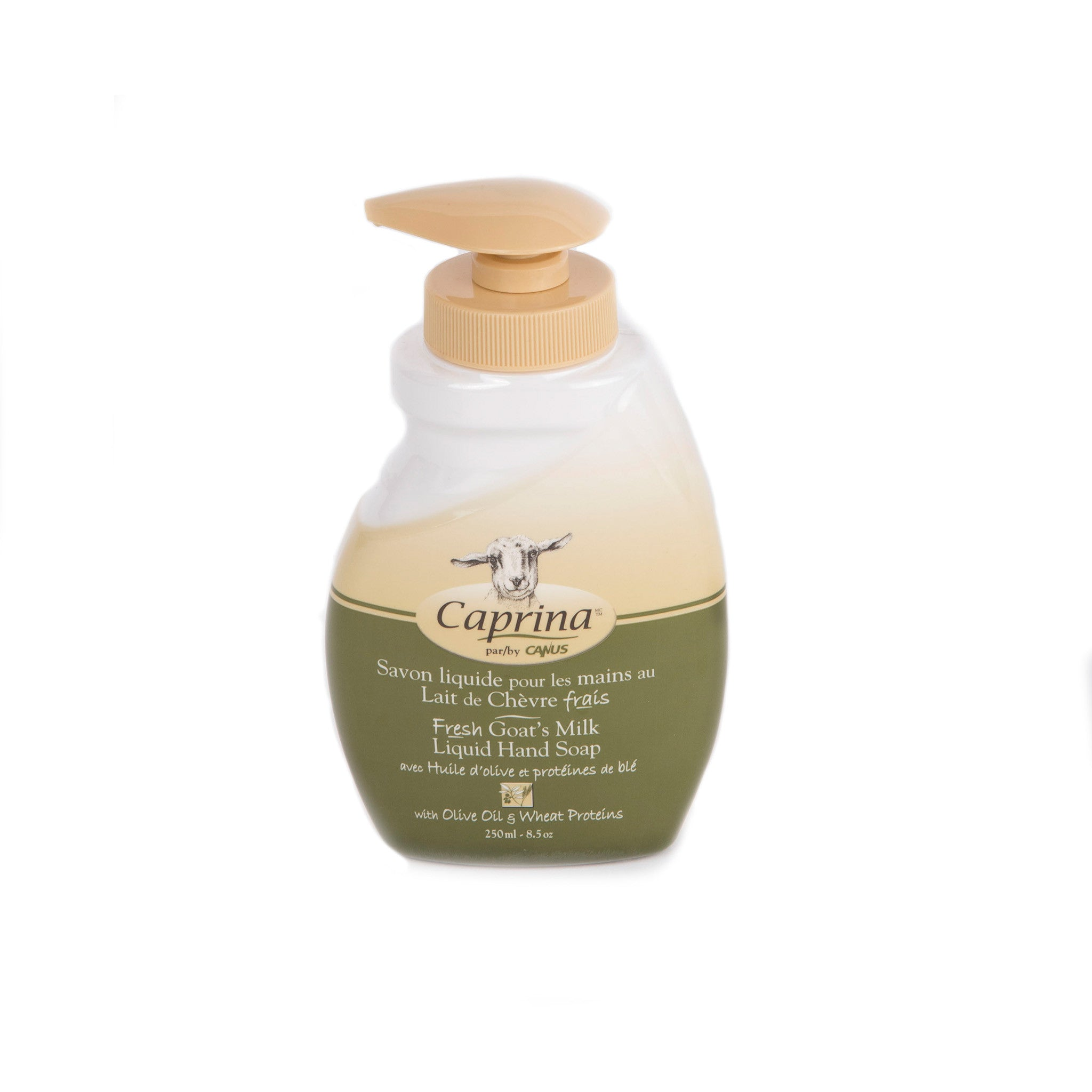 Caprina Liquid Hand Soap Olive Oil & Wheat Proteins