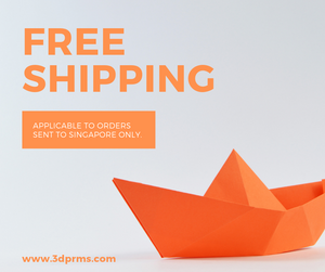 Free shipping to Singapore and reduced shipping costs to the rest of the world