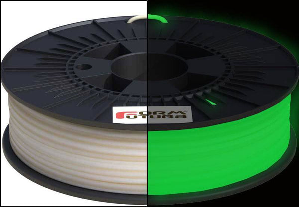 Formfutura - 1.75mm EasyFil™ Glow in the Dark Green PLA for FDM/FFF 3D Printing - 0.75kg -  Formfutura - 3D Printing Materials Store