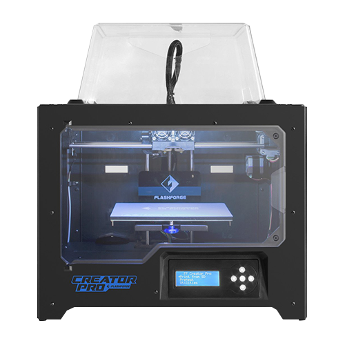 FlashForge 2016 Creator Pro Dual Extrusion 3D Printer - 3D Printing Materials Store