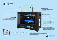 FlashForge 2016 Creator Pro Dual Extrusion 3D Printer - Specifications