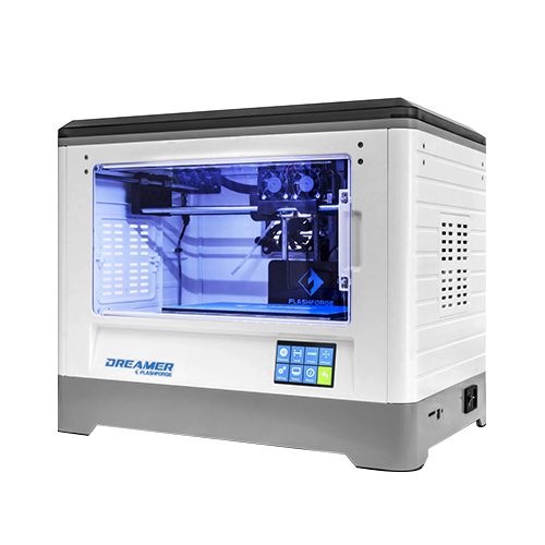FlashForge Dreamer Dual Extruder 3D Printer with Password-Lock Function