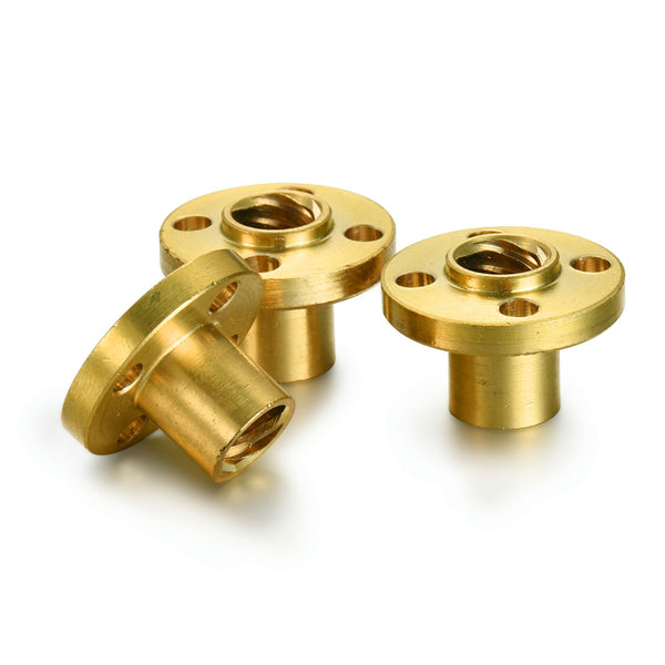 8mm Brass Lead Screw for Z-axis of Flashforge 3D Printers - 3D Printing Materials Store