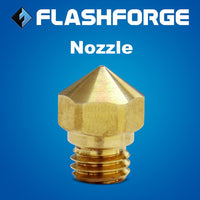Original Brass 0.4mm Nozzle for FlashForge 3D Printers - 3D Printing Materials Store