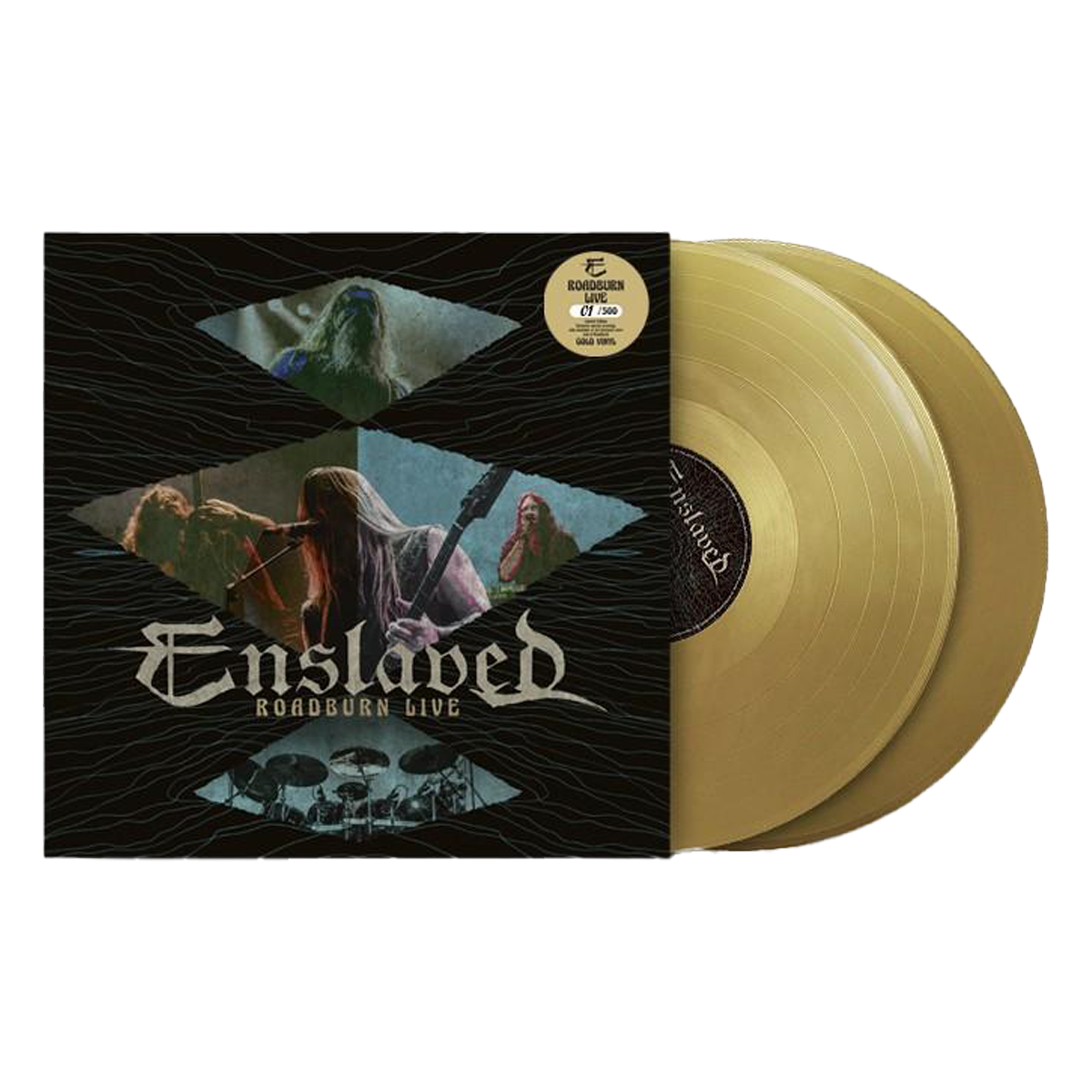 Enslaved - Roadburn Live 2xLP Gold (RSD Edition)