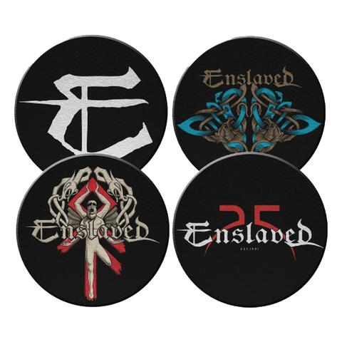 Enslaved - 4 Coaster Set