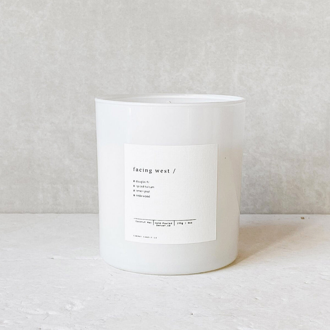 Sunday Candle Co. | Facing West