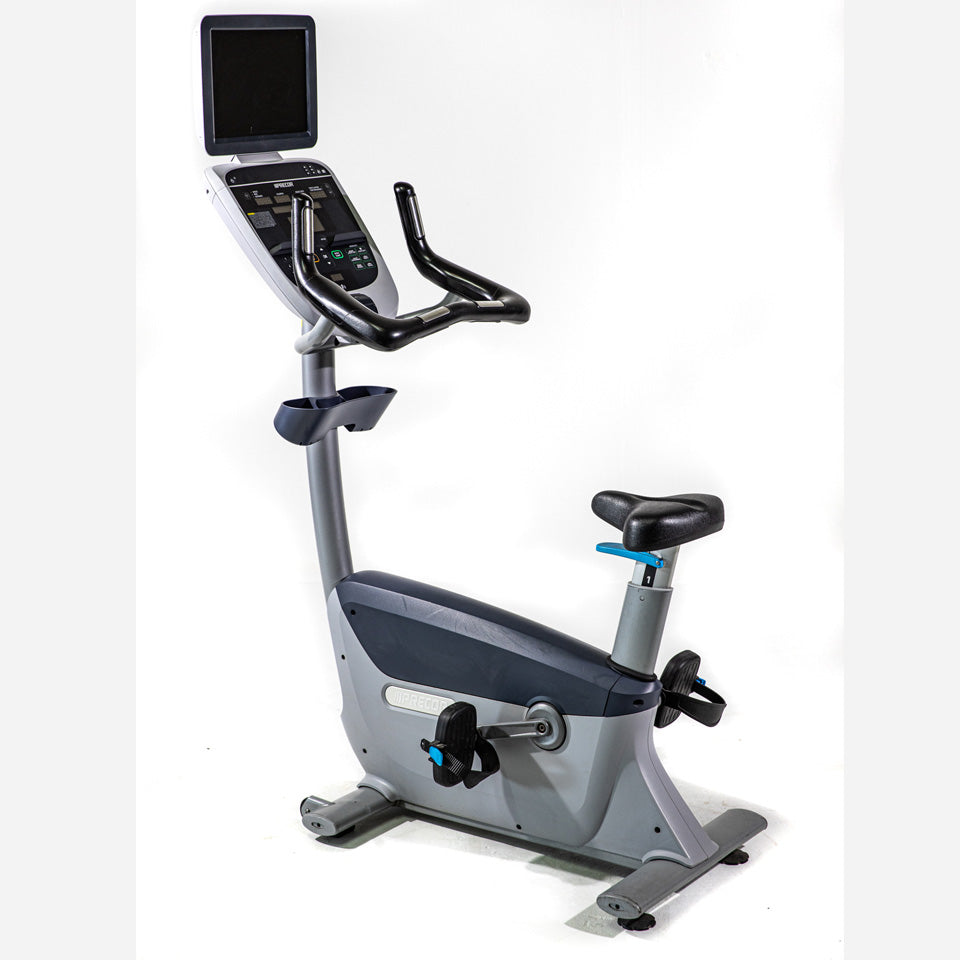 Precor Upright Bike UBK885 (pre-owned & certified) 1 yr parts warranty included
