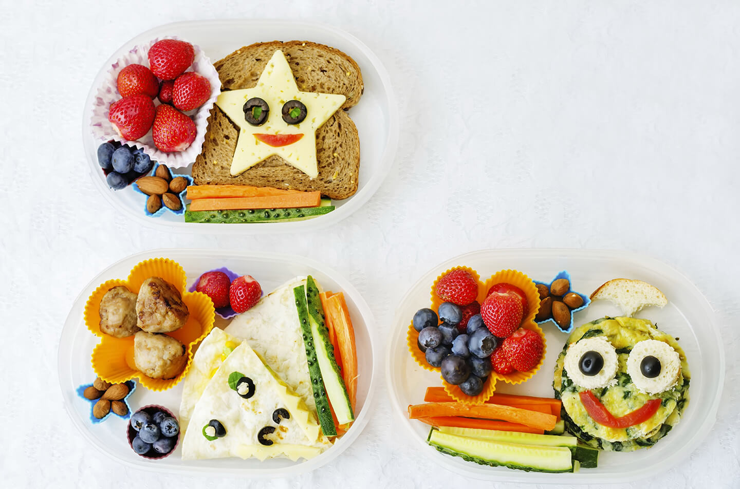 Pack a smarter lunch box for your children with these simple tips