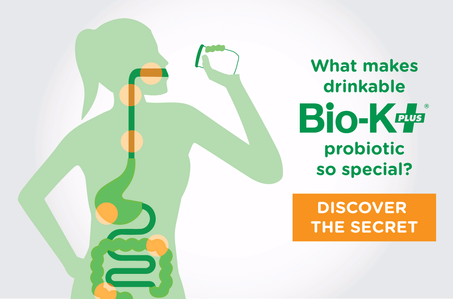What makes drinkable Bio-K+ probiotic so special?