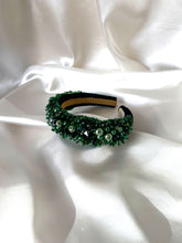 Load image into Gallery viewer, The Amy Band- Emerald Green