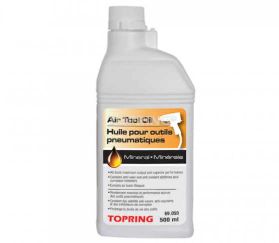 Topring - 69.050 - Huile pour outils pneumatiques 500 ml.