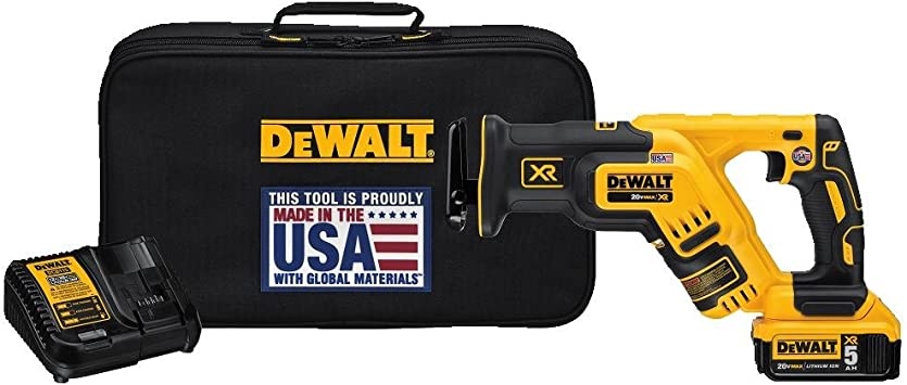 Dewalt - DCS367P1 - Ensemble de scie alternative compacte Dewalt 5ah.