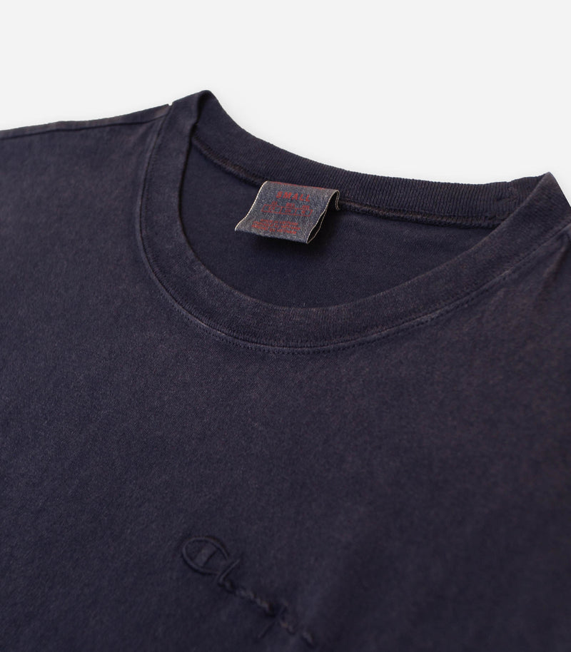 Crewneck Tee Washed Navy