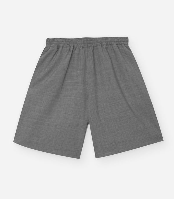 Wool Short Grey