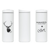 Tim Collom Insulated Tumbler (black and white)