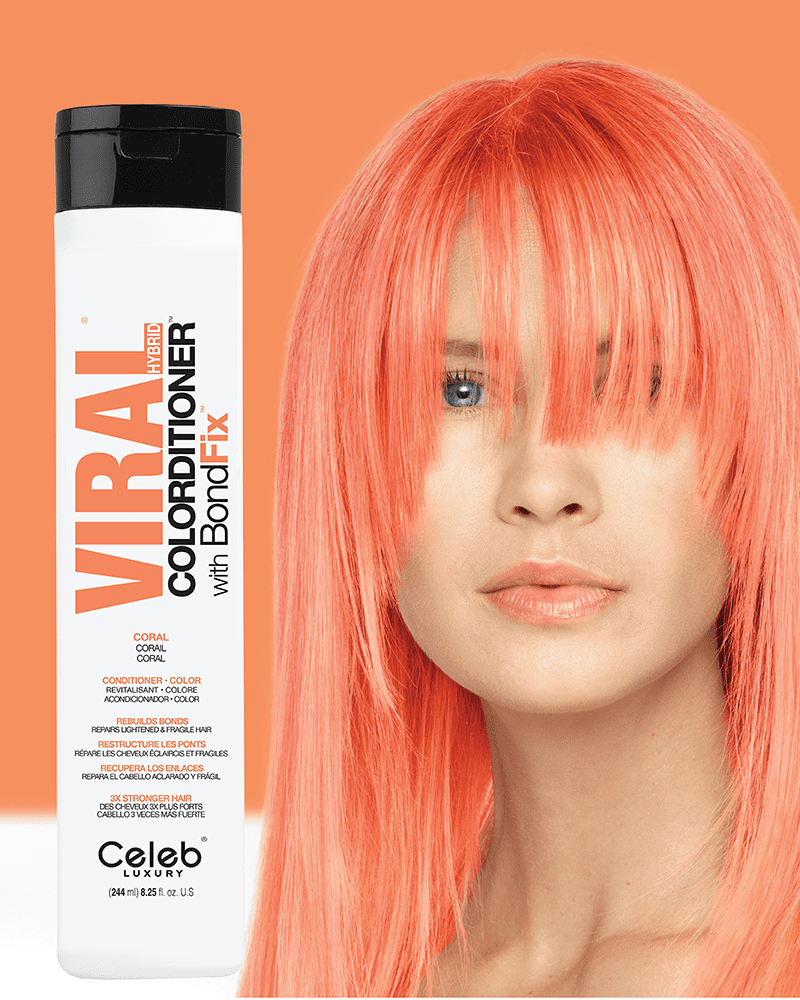 Celeb luxury viral CORAL color-ditioner