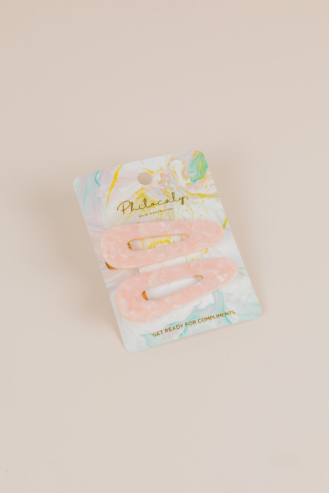 Philocaly 90's Baby Clip Set (Blush Quartz)