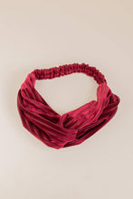 Load image into Gallery viewer, Philocaly Pleated Velvet Twist Headband (Multiple Colours)