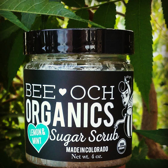 Organic Sugar Scrub - 2 oz Travel