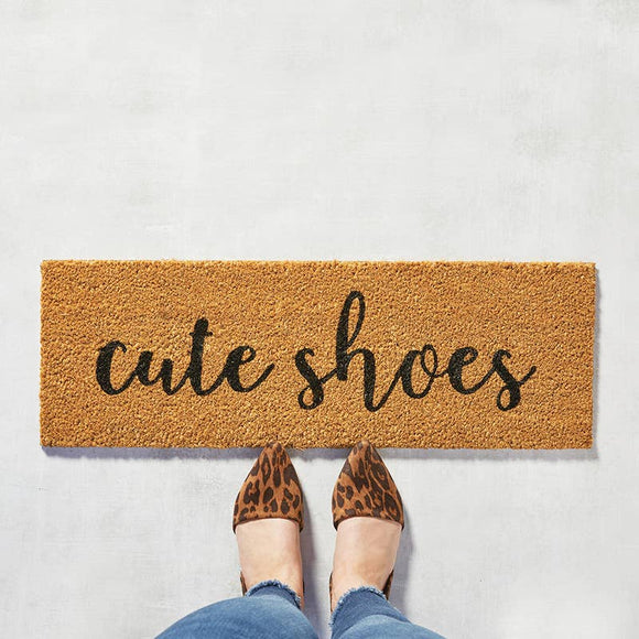 Door Mat - Cute Shoes