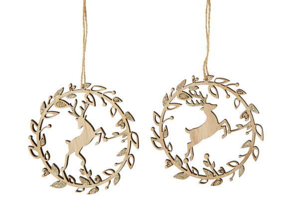 Stag Ornaments