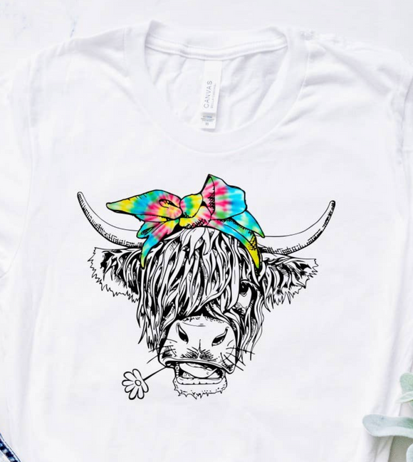 Highland Cow Long Sleeve Shirt