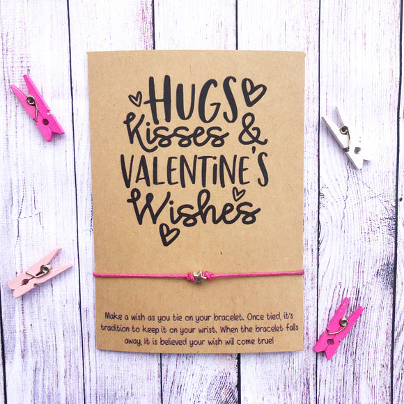 Hugs Kisses & Valentine's Wishes