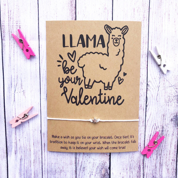 Llama Be Your Valentine