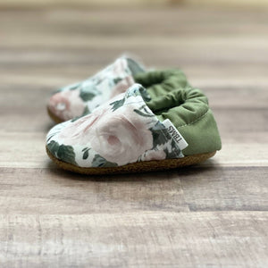 Antique Rose Moccasins 12-18 months