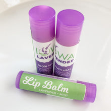 Load image into Gallery viewer, Lavender Mint Lip Balm Stick.