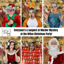 Load image into Gallery viewer, Full Ensemble Actor Led Murder Mystery Games