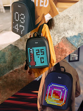 Load image into Gallery viewer, Divoom Pixel Art Backpack with Full Customizable LED Screen