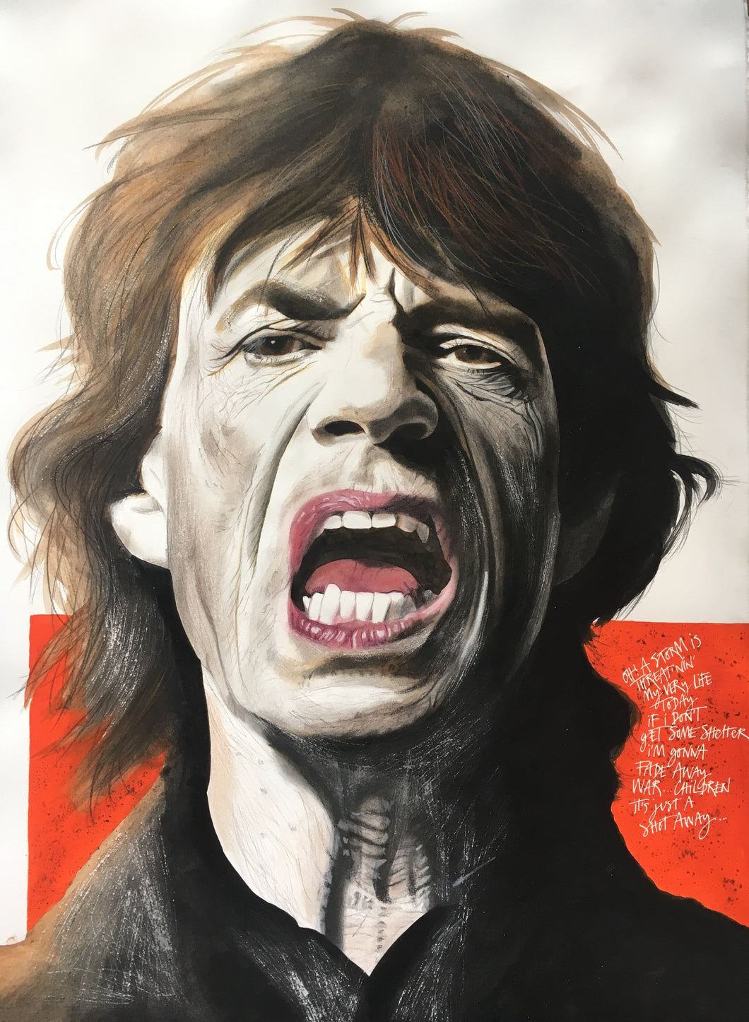 Mick's Just a Shot Away