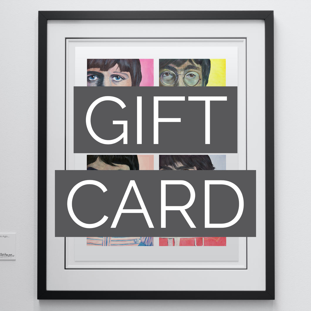Limited Edition Gift Card