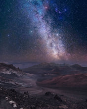 Load image into Gallery viewer, WINTER MILKY WAY OVER HALEAKALA CRATER