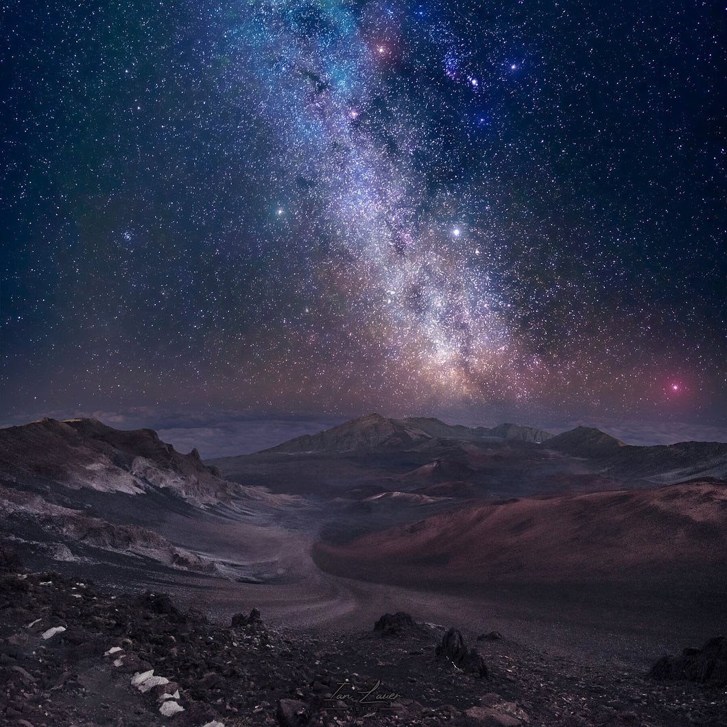 Haleakala Crater - Milky Way - 8x8