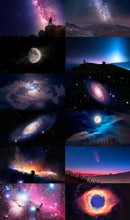 Load image into Gallery viewer, DIGITAL ASTROPHOTO ART BUNDLE