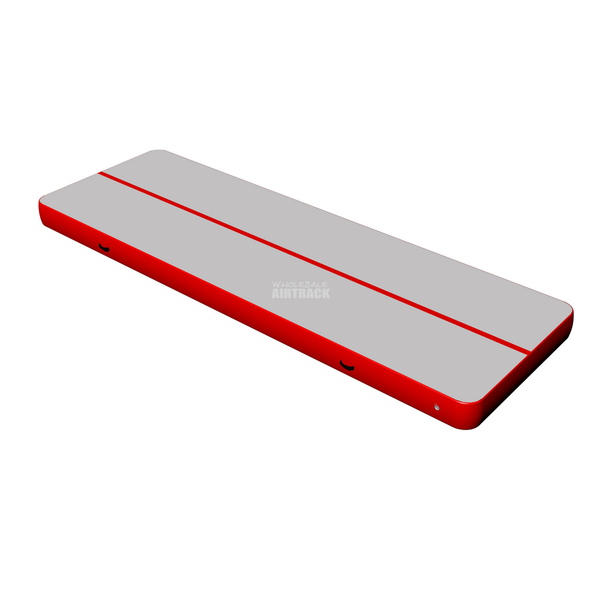 Popular gray surface red side gymnastics mats sale