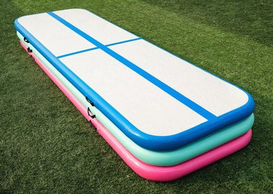 Free Air Pump, Featured Mini Air Gymnastics Track Air Mat