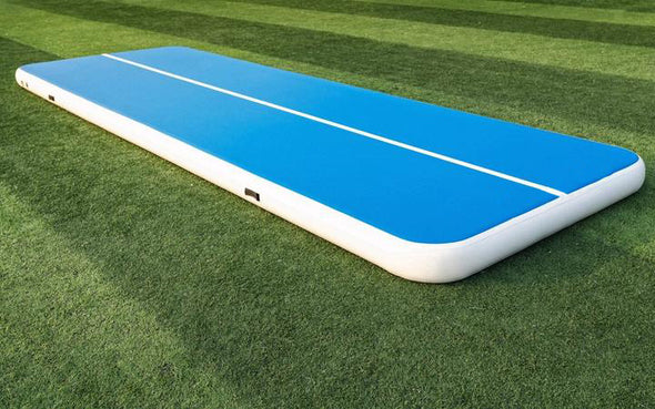 Hot Selling Blue And White Gymnastics Air Tumble Track