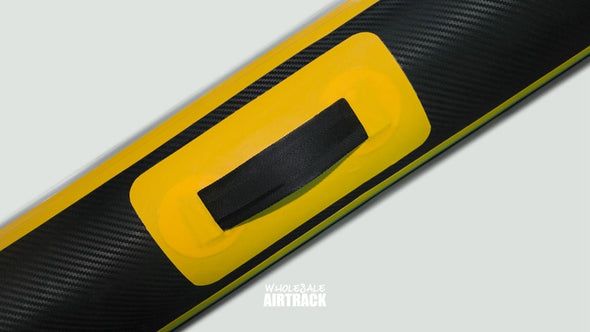 New Design Black Spark Inflatable Air Tumble Track