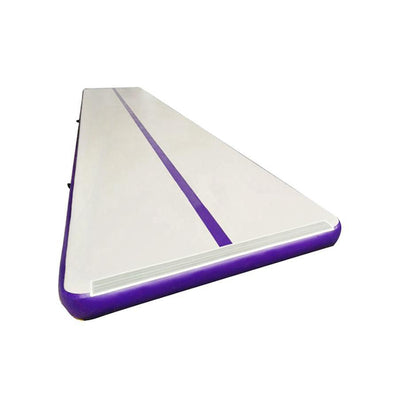 Lovely Purple Inflatable Airs Track Gym Mat, Air Tumble Track