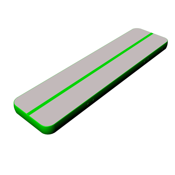 Fantastic quality gray surface green side air tumble tracks for sale