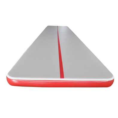 Red Gray Air Gymnastics Track For Sale Air Tumble Track Cheap
