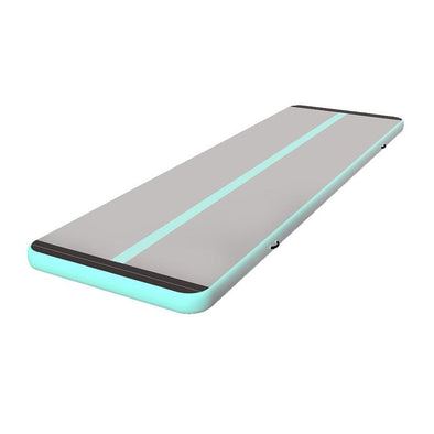 Top Selling Mint Green Gray Air Tumble Mat Gymnastics Track