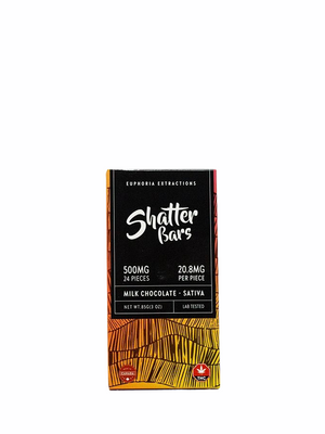 Milk Chocolate Shatter Bar (Sativa / 500MG) | 2 FOR 70$