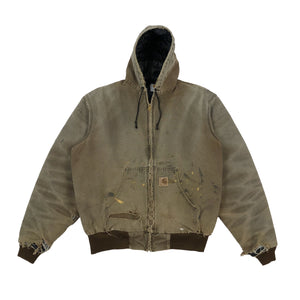 90's Distressed Carhartt Hooded Jacket