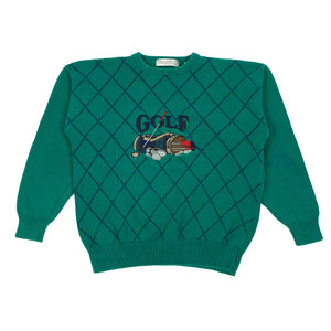 90's Golf Sweater