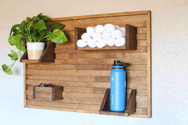 French Cleat Wall Organizer by Addicted 2 DIY